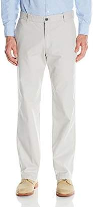 Izod Men's Saltwater Flat Front Straight Fit Chino Pant