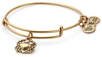 Alex and Ani Swarovski Crystal Crab Charm Bracelet