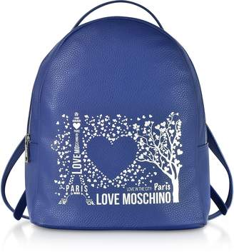 Love Moschino Printed City Lovers Backpack