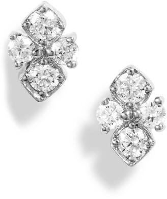 Bony Levy Diamond Quad Stud Earrings