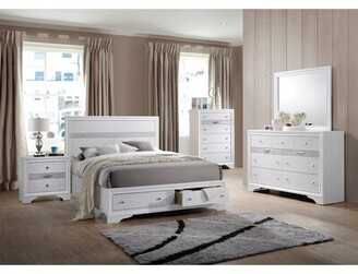 Logan MYCO Furniture Queen Storage Standard Bed MYCO Furniture