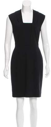 Narciso Rodriguez Silk-Trimmed Sheath Dress w/ Tags