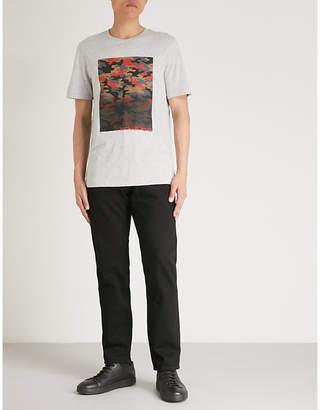 Michael Kors Camouflage-pattern cotton T-shirt