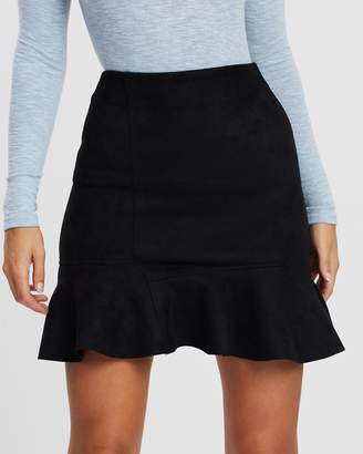 Atmos & Here Fit and Flare Mini Skirt