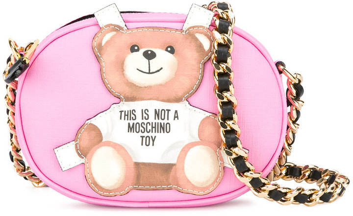 Moschino Moschino toy bear paper cut out crossbody bag