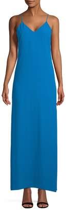 Alice + Olivia Women's Reagan Side Slit Slip Dress