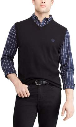 Chaps Men's Regular-Fit V-Neck Sweater Vest
