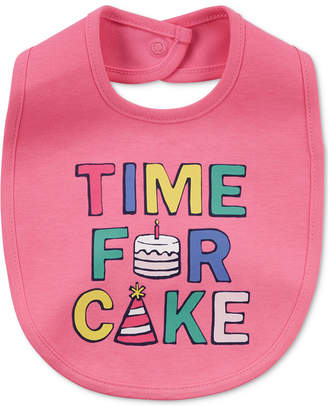 Carter's Time For Cake Cotton Bib, Baby Girls