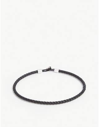 Miansai Nexus braided leather bracelet