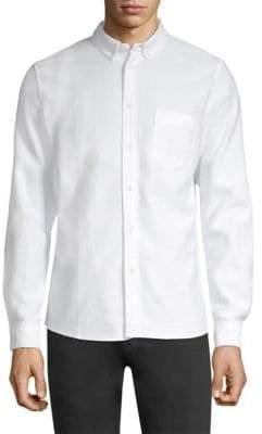 Levi's Cotton Jacquard Button-Down Shirt