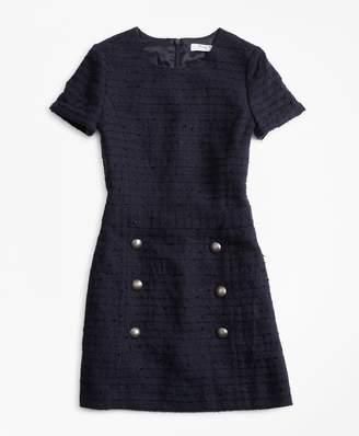 Brooks Brothers Girls Tweed Dress