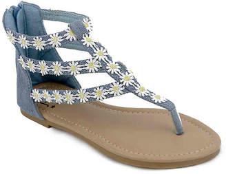 Olivia Miller Hippie Toddler & Youth Sandal - Girl's