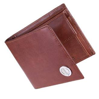 Drew Lennox - Luxury English Leather Men's Billfold Wallet in Non-Embossed Rich Brown