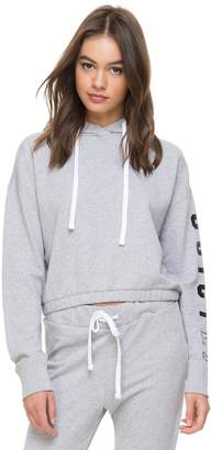 Juicy Couture Juicy La Heathered French Terry Hooded Pullover