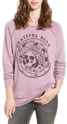 Women's Junk Food Grateful Dead Burnout Sweatshirt $92 thestylecure.com