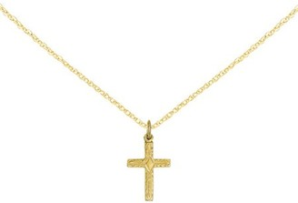 Generic 14kt Yellow Gold Small Cross Charm