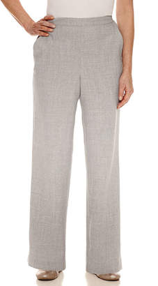 Alfred Dunner Rose Hill Flat Front Pants