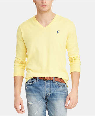 Polo Ralph Lauren Men Cotton V-Neck Sweater