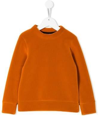 Caroline Bosmans Neon velvet sweater