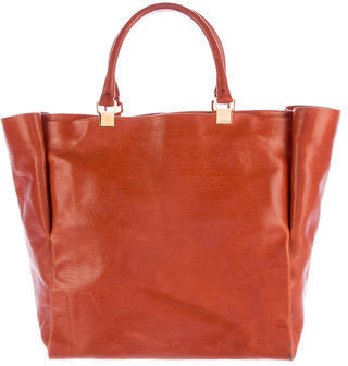 Lanvin Textured Leather Tote $325 thestylecure.com