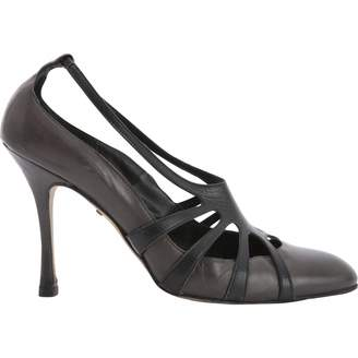 Alexa Wagner Leather heels