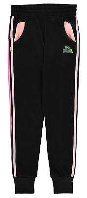 Lonsdale London Kids Closed Hem Jogging Bottoms Sweat Pants Joggers Junior Girls