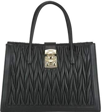 Miu Miu Textured Tote Bag