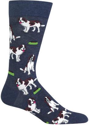 Hot Sox Men's Dog Socks