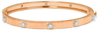 Buccellati Macri 18-karat Pink And White Gold Diamond Bracelet - Rose gold