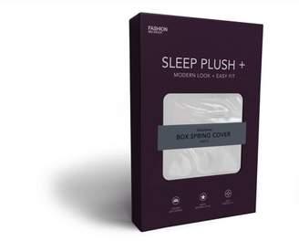 Leggett & Platt Sleep Plush + White Fabric Box Spring Cover, Queen