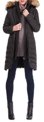 Séraphine Danya Winter Down Maternity Parka Coat, Black