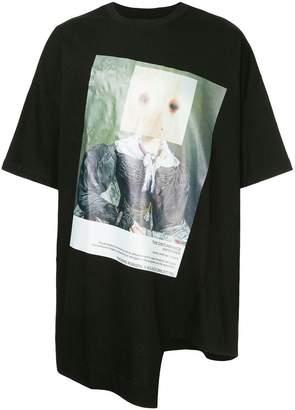 Bmuet(Te) asymmetric T-shirt