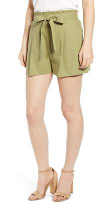 Band of Gypsies Cadiz Tie Waist Shorts