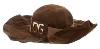 Dolce & Gabbana Wide-Brimmed Logo Hat