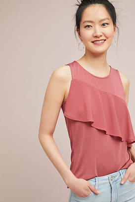 Anthropologie Murdoch Ruffled Tank