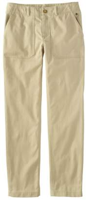 L.L. Bean L.L.Bean Women's Essential Utility Chinos, Favorite Fit Slim-Leg