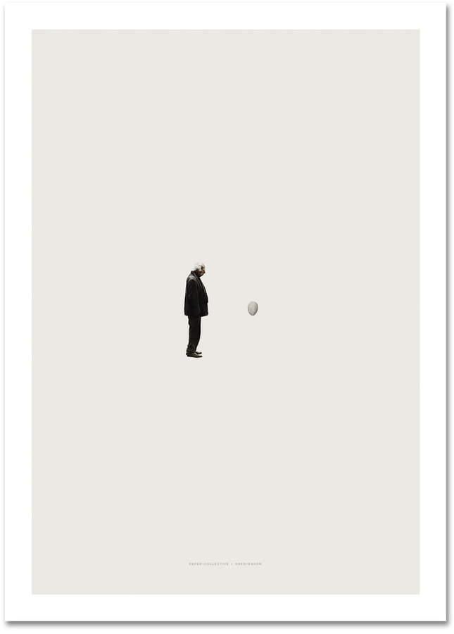 Paper Collective - Time Reprise, 70 x 50 cm