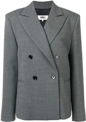 MM6 MAISON MARGIELA boxy fit blazer