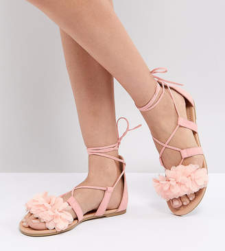 a2820ef5ee1a Asos Pink Women s Sandals - ShopStyle