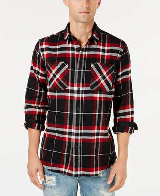 American Rag Men Plaid Flannel Shirt
