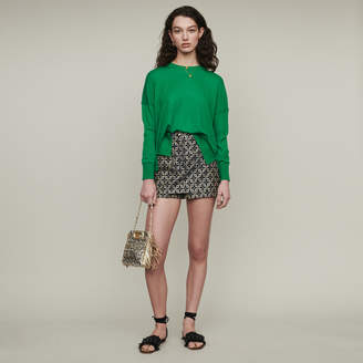 Maje Oversize sweater in cashmere