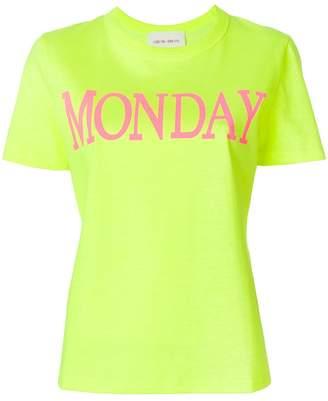 Alberta Ferretti Monday print T-shirt