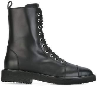 Giuseppe Zanotti 'Chris' military boots