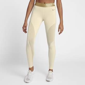 Nike Pro Warm Women's Sparkle 7/8 Tights