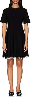 Proenza Schouler Women's Compact-Knit Flounce Dress
