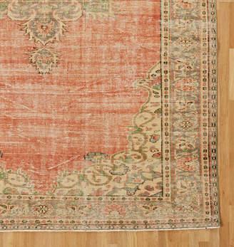 Rejuvenation Large Hand Knotted Turkish Rug from Demirci Region