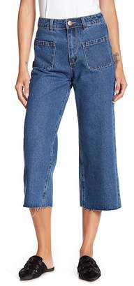 Cotton On & Co. Mid Rise Wide Leg Jeans
