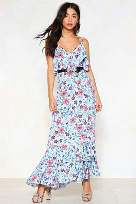 Nasty Gal Listen to the Flower People Floral Dress