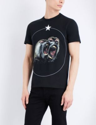 Givenchy Twin Monkey cotton-jersey T-shirt 3