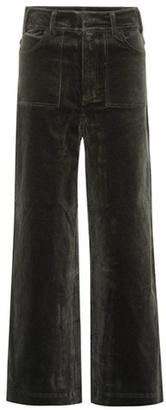 Ganni Ridgewood corduroy trousers